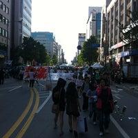 Foto tirada no(a) 금남로공원 por SungUk B. em 5/17/2012