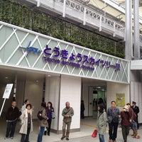 Снимок сделан в Tokyo Skytree Station (TS02) пользователем Jun I. 4/21/2012