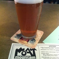 """11+/"""" Beer Bumper STICKER ~*~ MOAT MOUNTAIN Smoke House /& Brewery ~ New Hampshire"""