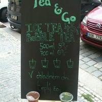 Das Foto wurde bei TEA & GO - Fresh Bubble Tea von Simona C. am 6/12/2012 aufgenommen