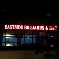 Foto tirada no(a) Eastside Billiards & Bar por Armel M. em 8/30/2012