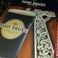 Снимок сделан в Paddy Whacks Irish Sports Pub пользователем Mona C. 7/1/2012