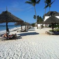 Photo taken at DoubleTree Resort by Hilton Hotel Zanzibar - Nungwi by LZ on 9/10/2012