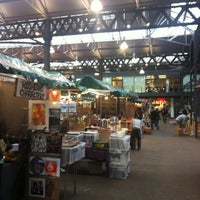 Photo taken at Old Spitalfields Market by HYUK K. on 3/4/2012