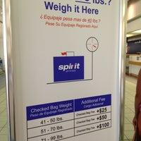 Spirit Airlines Check In >> Spirit Airlines Check In Airport Terminal In Myrtle Beach