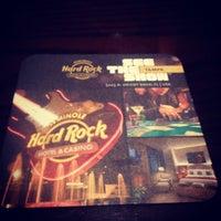 Снимок сделан в Hard Rock Cafe Houston пользователем Alvaro 8/29/2012
