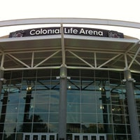 Foto tomada en Colonial Life Arena por Chris P. el 6/9/2012