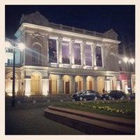 8/10/2012 tarihinde Jose J.ziyaretçi tarafından Teatro Municipal de Santiago'de çekilen fotoğraf