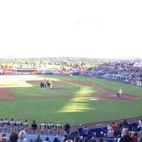Photo prise au Spokane Indians Diamond Club par Jack S. le8/25/2012