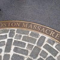 Foto tirada no(a) Boston Massacre Monument por Sun Y. em 8/11/2012