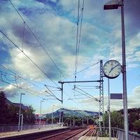 Das Foto wurde bei Bahnhof Jena Paradies von Rhinover am 7/20/2012 aufgenommen