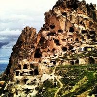 4/15/2012 tarihinde Kaan A.ziyaretçi tarafından Uçhisar Kalesi'de çekilen fotoğraf