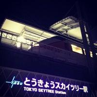 Снимок сделан в Tokyo Skytree Station (TS02) пользователем c50cub96 5/5/2012