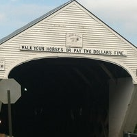 Image added by Erica S. at Cornish-Windsor Covered Bridge