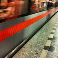 Снимок сделан в Metro =C= Nádraží Holešovice пользователем Martin K. 8/29/2012