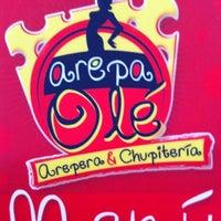 """Foto diambil di Arepa Olé """"Chueca"""" oleh Alejandra G. pada 8/8/2012"""