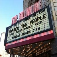 Foto tomada en The Fillmore Detroit por Alan el 6/17/2012