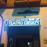 รูปภาพถ่ายที่ Centro Argentino de Teatro Ciego โดย Santiago W. เมื่อ 4/14/2012