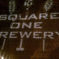Photo taken at Square One Brewery & Distillery by Stacey F. on 3/29/2012