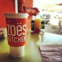 Photo taken at Zo?s Kitchen by CJ M. on 2/20/2012