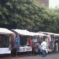 Foto tirada no(a) Mercado Artesanal de Tepoztlán por Rodolfo R. em 4/8/2012