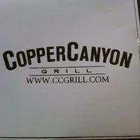 รูปภาพถ่ายที่ Copper Canyon Grill โดย Kathy G. เมื่อ 5/13/2012