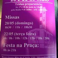 5/17/2012 tarihinde Julianne F.ziyaretçi tarafından Igreja Santa Rita de Cássia'de çekilen fotoğraf