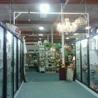 Photo taken at Brass Armadillo Antique Mall by Brittany L. on 2/16/2012