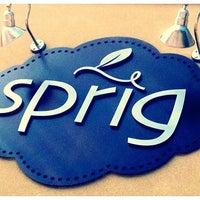 Foto scattata a Sprig Restaurant da Laura D. il 3/23/2012