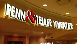 Penn Teller Theater At The Rio Las Vegas Nv Tickets Schedule Seating Charts Goldstar