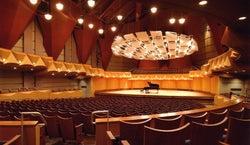Meng Concert Hall at CSU Fullerton