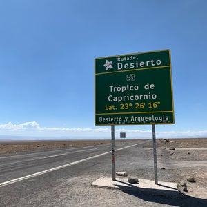 Trópico de Capricornio - Desierto Atacama