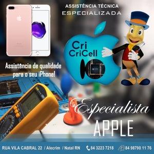 Cricricell Apple - Assistência Técnica Apple