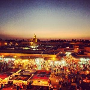 Place Jemaa el-Fna (ساحة جا�?ع ا�?ف�?اء)