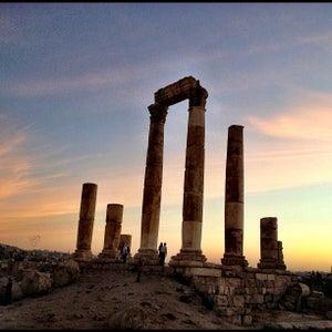 Amman Citadel (جب�? ا�?�?�?عة)