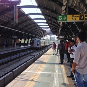 Ramakrishna Ashram Marg Metro Station