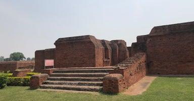 Ruins of Nalanda University / มหาวิทยาลัยนาลันทา เมืองราชคฤห์ อินเดีย