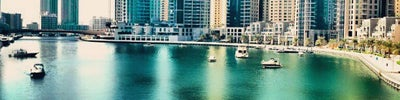 Dubai Marina Walk (ممشى مرسى دبي)