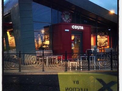 Costa Coffee In Castlemilk Scotland United Kingdom Online