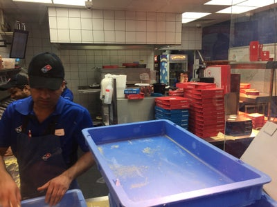 Dominos Pizza In Stonebridge Park England United Kingdom