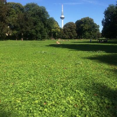 Unterer Luisenpark - Park in Oststadt