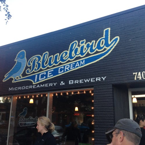Bluebird Ice Cream