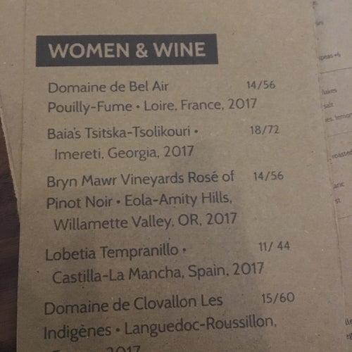 Tyber Creek Wine Bar & Kitchen
