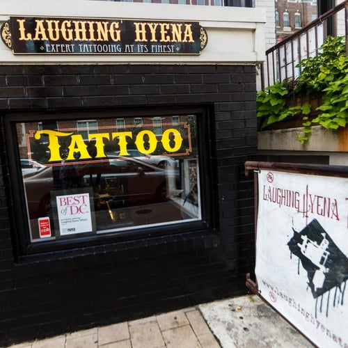 Laughing Hyena Tattoos