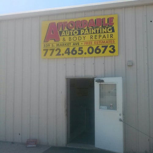 affordable auto painting