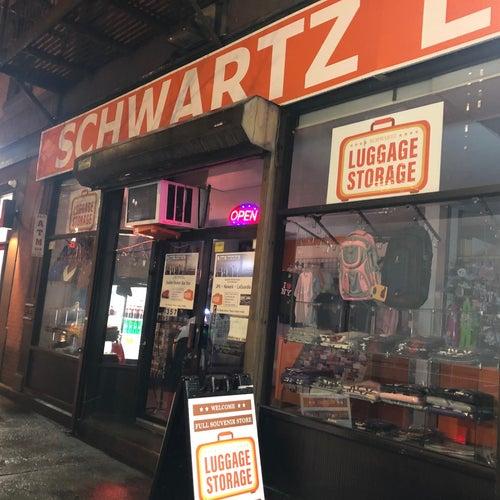 Schwartz Luggage Storage NYC
