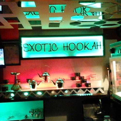 exotic hookah lounge