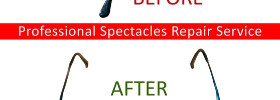 4acb18e8f4e7 Professional spectacles repair service available at Visio Optical. Full  service optical shop in Singapore near Holland V. Thousands of frames from  designer ...