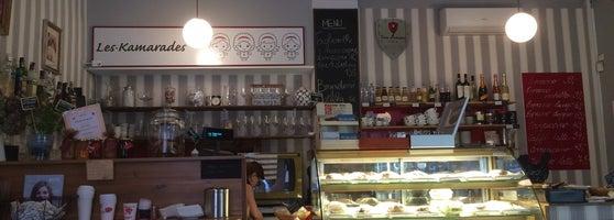 My Favorite Caffe In Prague (taste The Pancake) :)