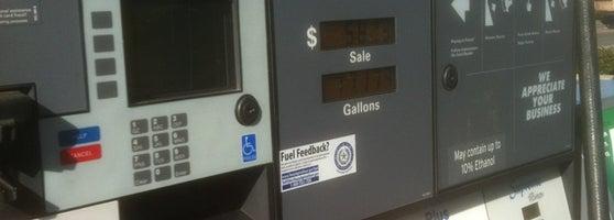 Chevron Gas Station In Houston
